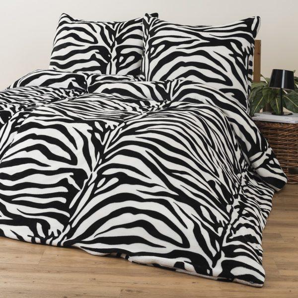 4Home obliečky mikroflanel Zebra