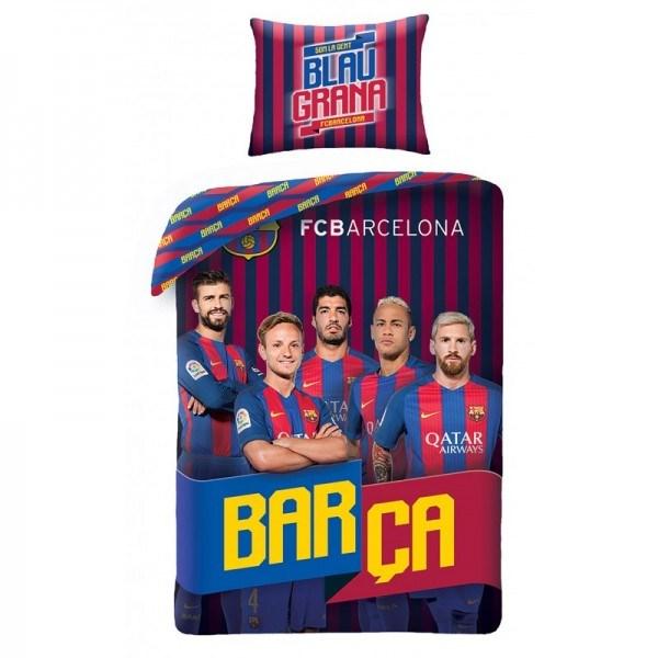 Bavlnené obliečky FCB Barca