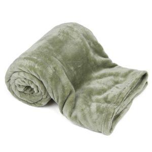 4Home Deka Soft Dreams olivovo zelená