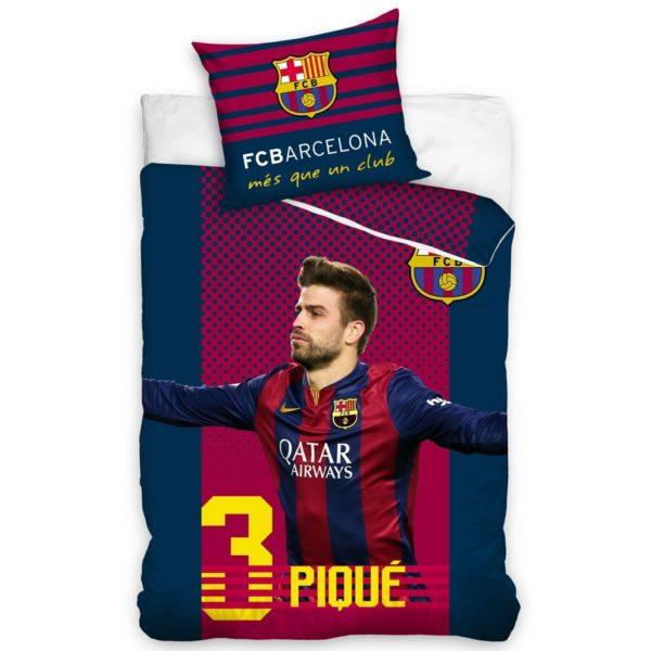 Bavlnené obliečky FC Barcelona Pique