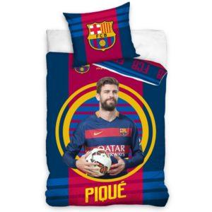 Bavlnené obliečky FC Barcelona Pique 2016