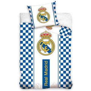 Bavlnené obliečky Real Madrid Check