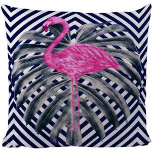 Butter Kings Dekoračný vankúšik Pink flamingo