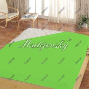 Matějovský froté prestieradlo zelená