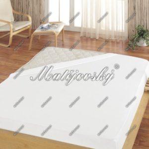 Matějovský jersey prestieradlo biela