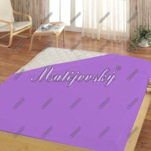 Matějovský jersey prestieradlo svetlo fialová