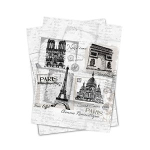 Matějovský kuchynská utierka Paris monuments