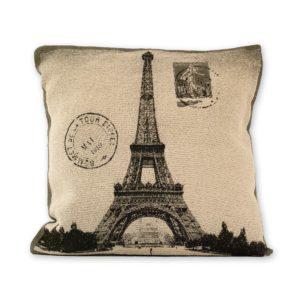 Obliečka na vankúšik Žakár Eiffel tower