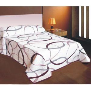 Prehoz na posteľ May fialový