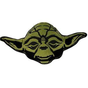 Tvarovaný vankúšik Star Wars Yoda