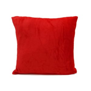 Vankúšik Mikroplyš New červená