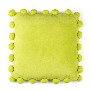 Vankúšik Pompon zelená