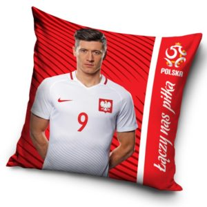 Vankúšik PZPN Lewandowski red