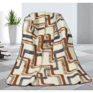 Vlnená deka Geometria