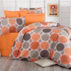 Bavlnené obliečky Delux Targets oranžová