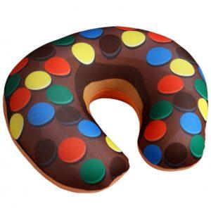Cestovný vankúšik Donut lentilky
