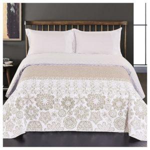 DecoKing Prehoz na posteľ Alhambra béžová