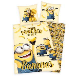 Detské bavlnené obliečky Mimoni Bananas