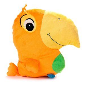 Vankúšik Papagáj oranžový