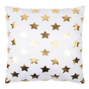 Vankúšik Gold De Lux Hviezdy