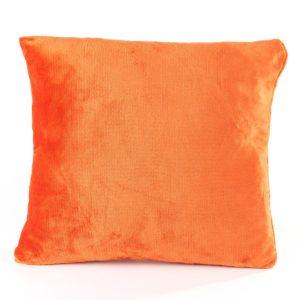 Vankúšik Mikroplyš oranžová