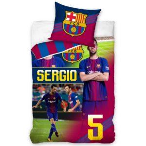 Bavlnené obliečky FC Barcelona Sergio