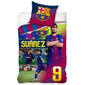 Bavlnené obliečky FC Barcelona Suárez