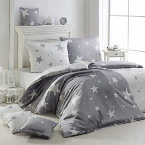 Matějovský Krepové obliečky New Star Grey