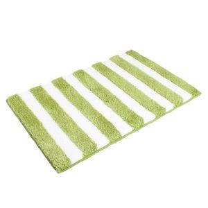Matějovský Kúpeľňová predložka SOFT Pruhy zelená