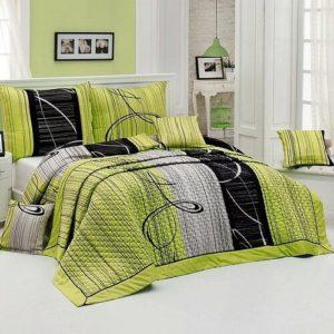 Matějovský Prehoz na posteľ Eternity Green