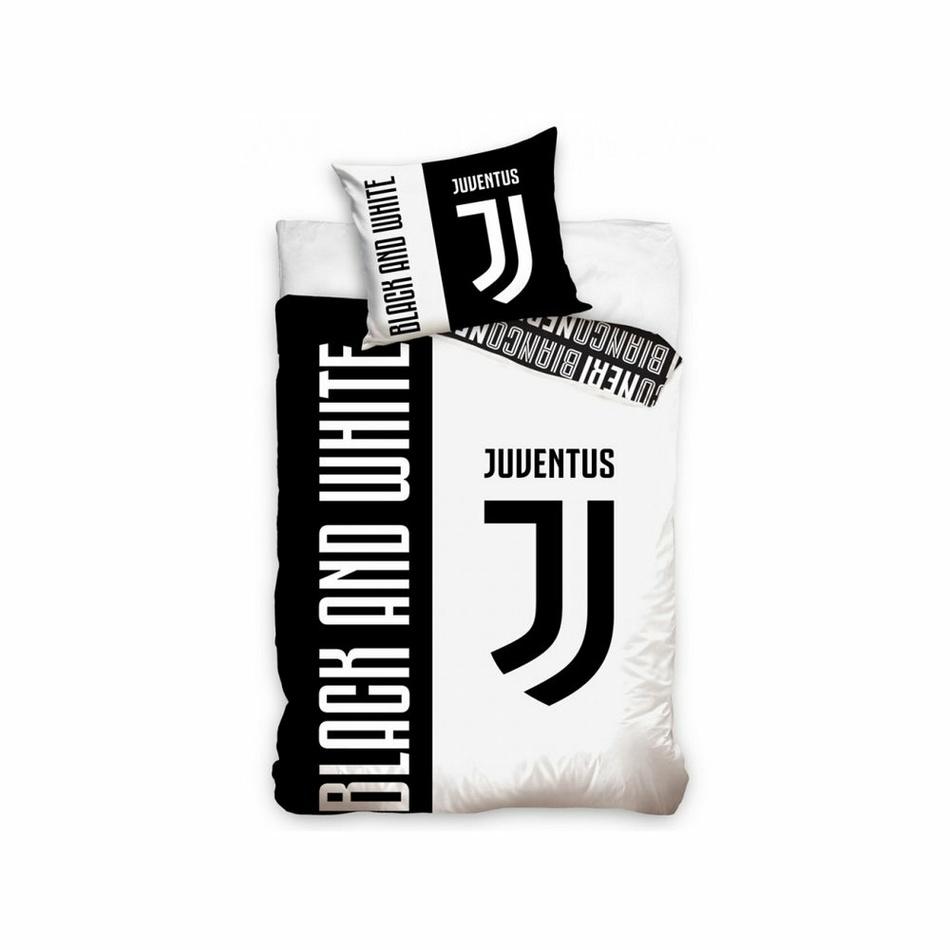Bavlnené obliečky FC Juventus Bianco Neri