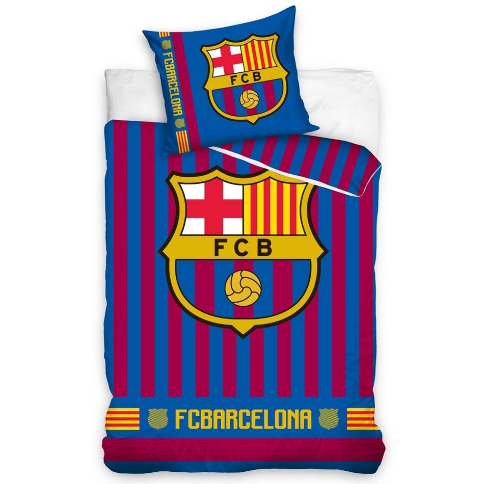Bavlnené obliečky FC Barcelona Stripes