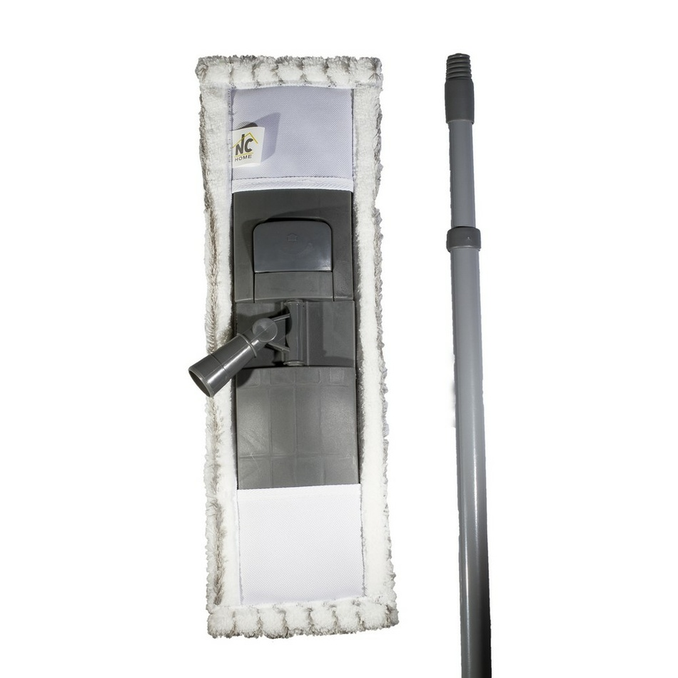 Mop GREY s mikrovláknom 14 x 44 cm a s teleskopickou tyčou 68-120 cm