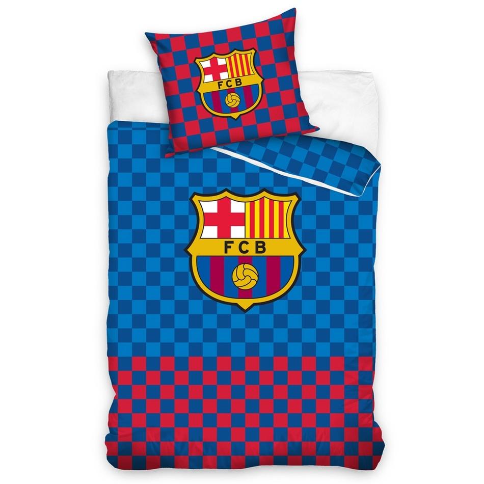Bavlnené obliečky FC Barcelona Chessboard