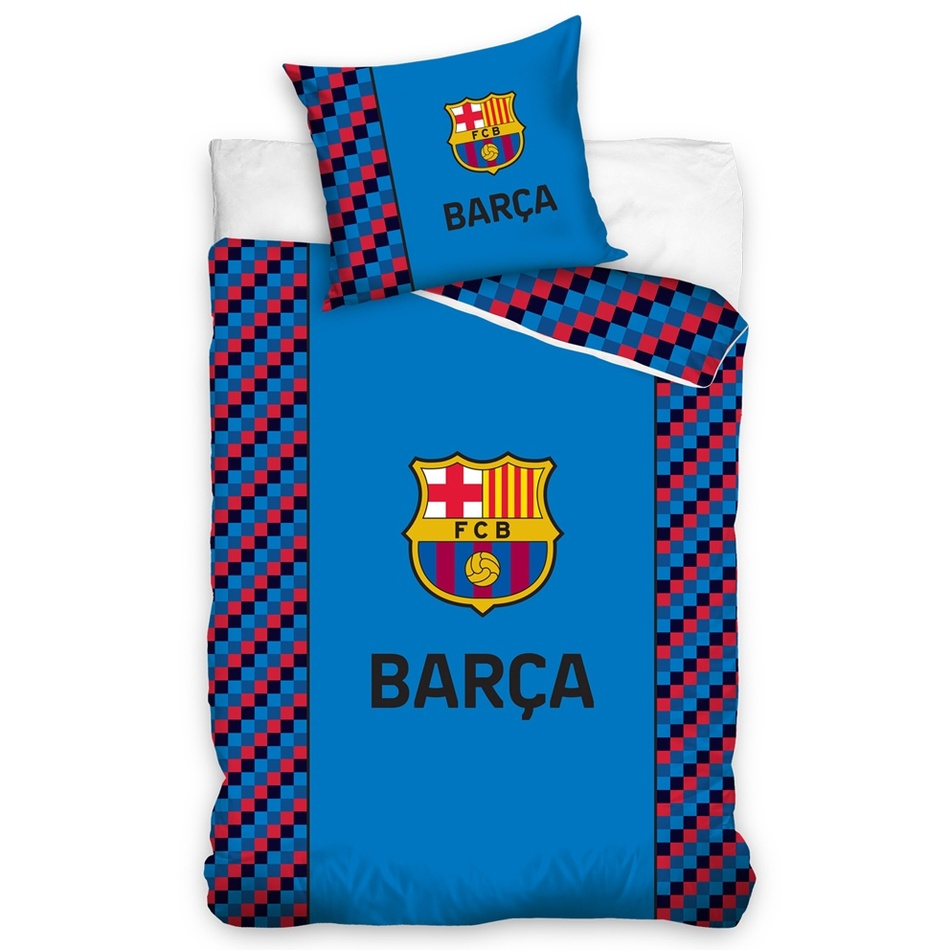 Bavlnené obliečky FC Barcelona Small Cubes