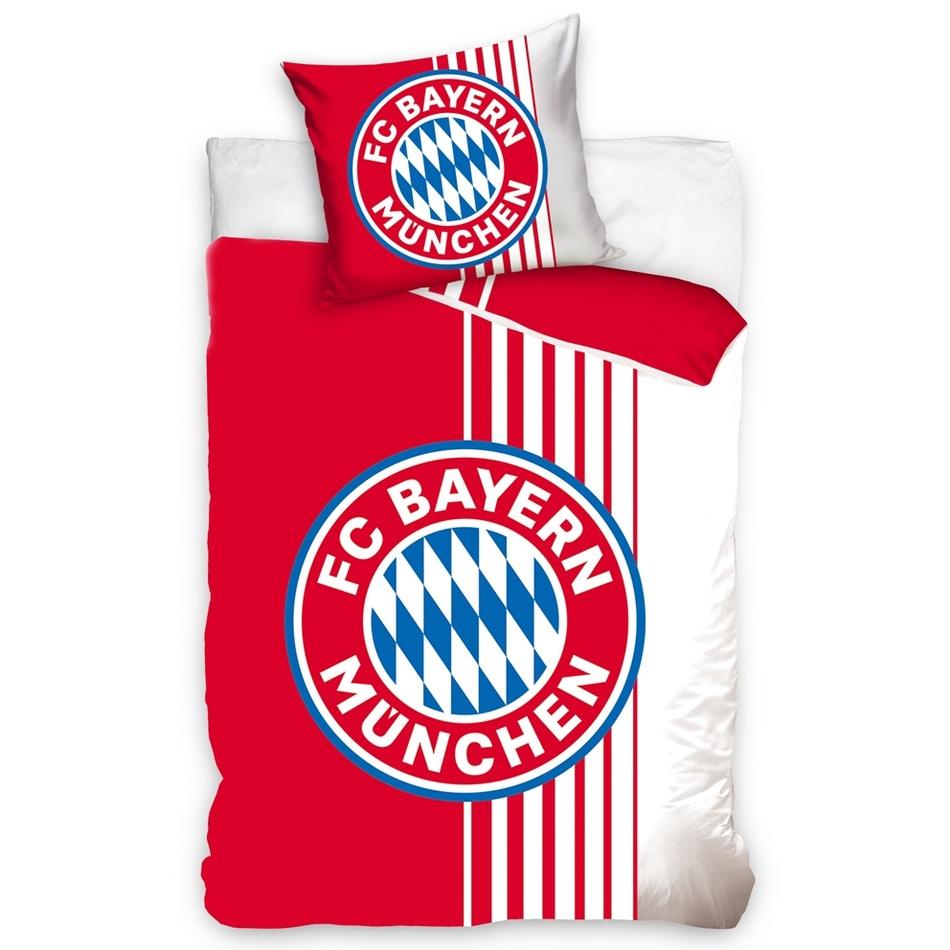 Bavlnené obliečky FC Bayern Mnichov Rote Streifen