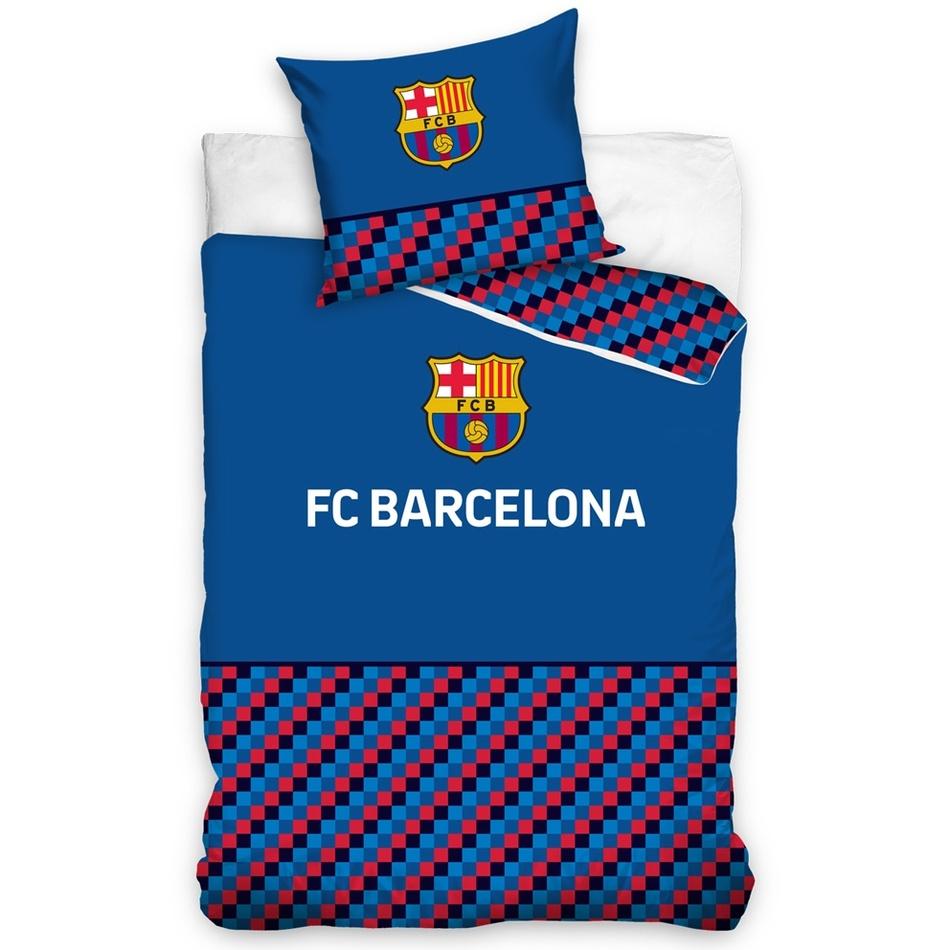 Bavlnené obliečky FC Barcelona Half of Cubes